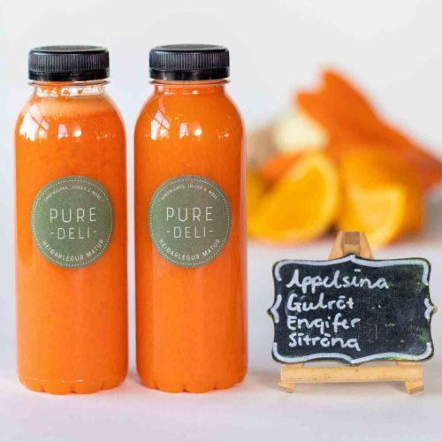 Appelsínugulur safi