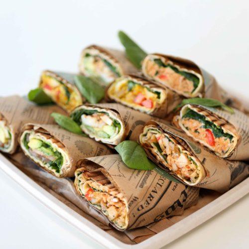 Spicy Tuna vefjubakki
